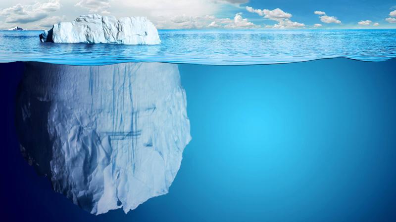 El misterio del Iceberg